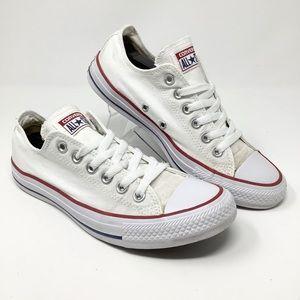 CONVERS Chuck Low White Women's Unisex Shoe Size.8
